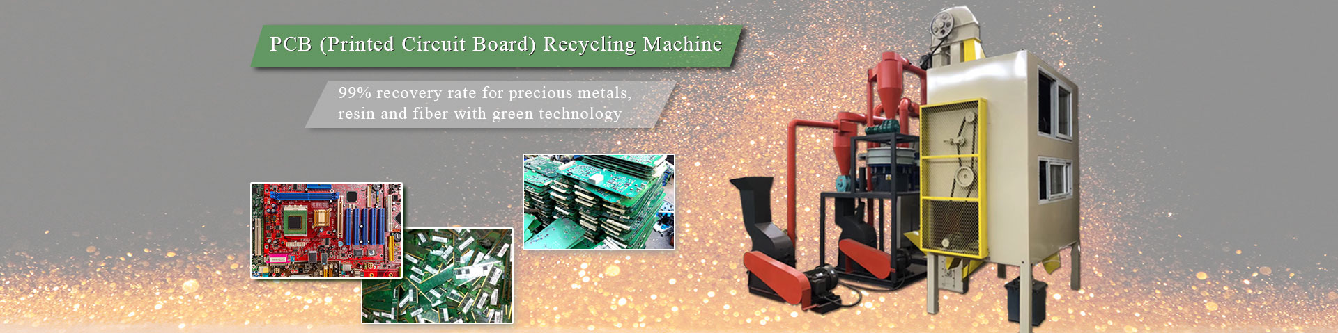 PCB board recycling machine