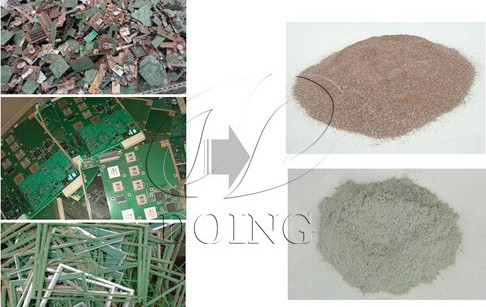 Printed circuit board recycling process